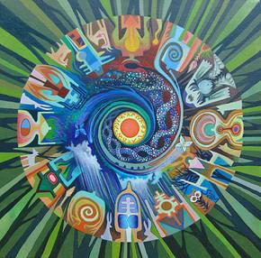 Sasquatch Mandala