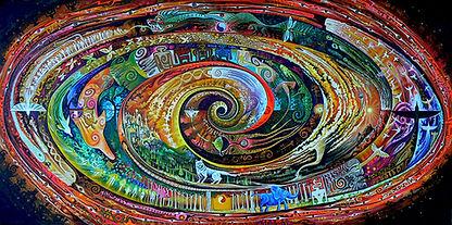 Atlantis Spiral - Sam Brown Art