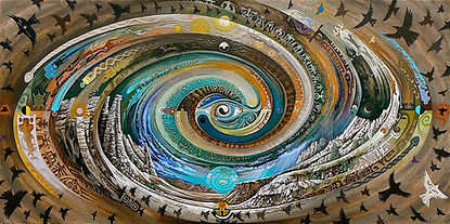 Plaza Blanca Spiral - Sam Brown Art