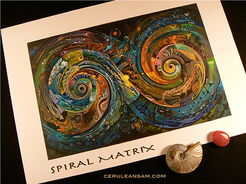 Spiral Matrix -paper12x18