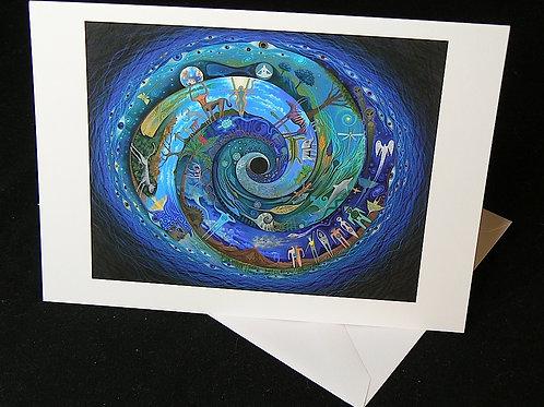 Spiral Speak ART CARD