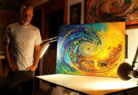 Taos Spiral - Canvas