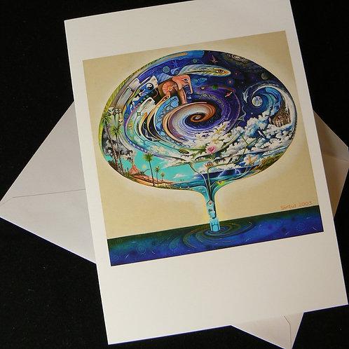 Quantum Spiral ART CARD