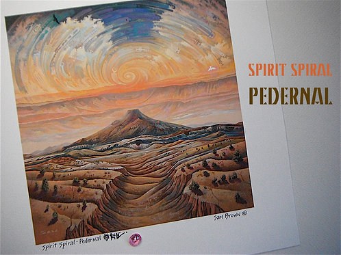 Spirit Spiral - Pedernal   paper10x10