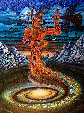 Plaza Blanca Ancestor - Sam Brown Art