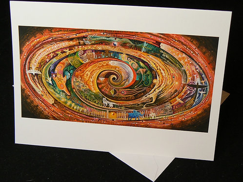 Atlantis Spiral ART CARD
