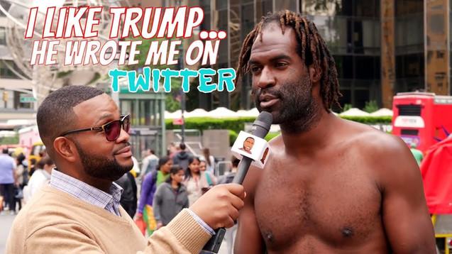 I Like Donald Trump... He Wrote Me On Twitter