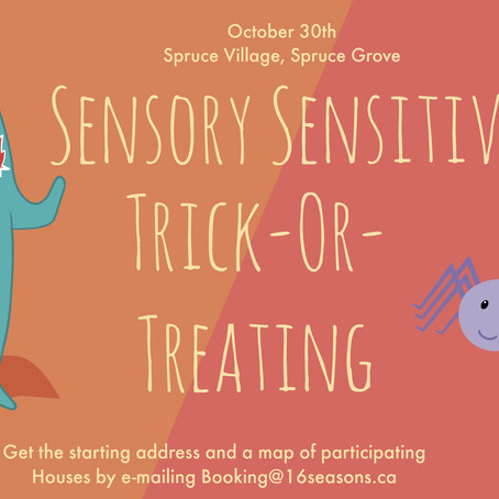 Sensory Sensitive Trick Or Treating