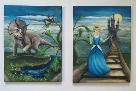 Triceratops a princezna