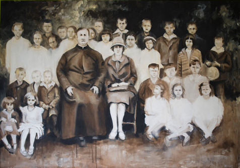 Praděda ve škole 1922
