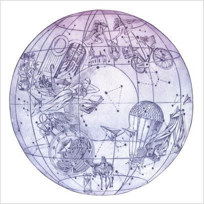 Originální grafika A sky full of stars