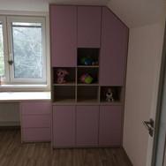 Moderní nábytek na míru do dětského pokoje