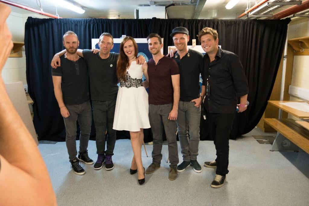 Míla s Coldplay