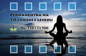 Lenia Yoga permanentka