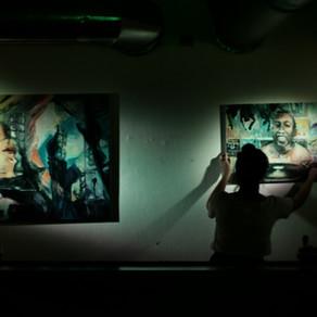 Výstava v Experiment art & lounge club v Liberci