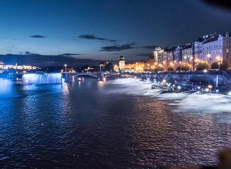 Poděkování hasičům a celému týmu Hasičské fontány Praha 2018