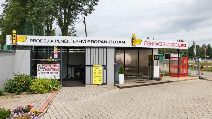 Čerpací stanice LPG Gepy Liberec