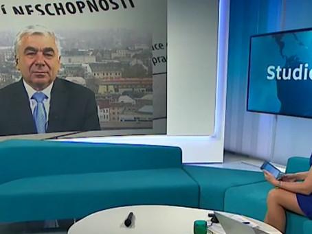 Senátor Vosecký ve Studiu 6 ČT k tématu proplácení prvních tří dnů nemoci