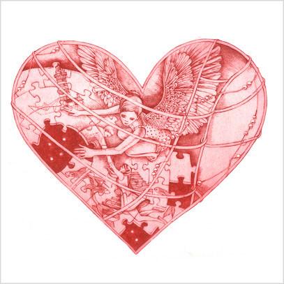 Originální grafika True love