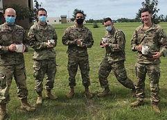 Military with Hug Mugs