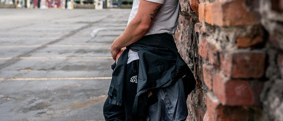 Black Scrunch cuffs joggers