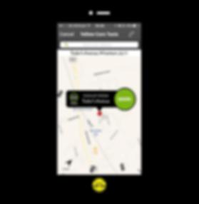 Image of Yellowcars app screenshot on iphone