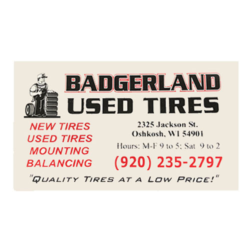 Badgerland Used Tires
