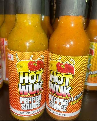 Hot Wuk - Pepper Sauce Extra Hot