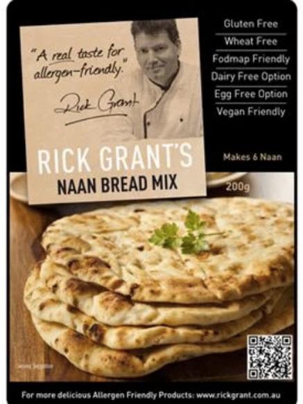 Rick Grants Naan Bread Mix