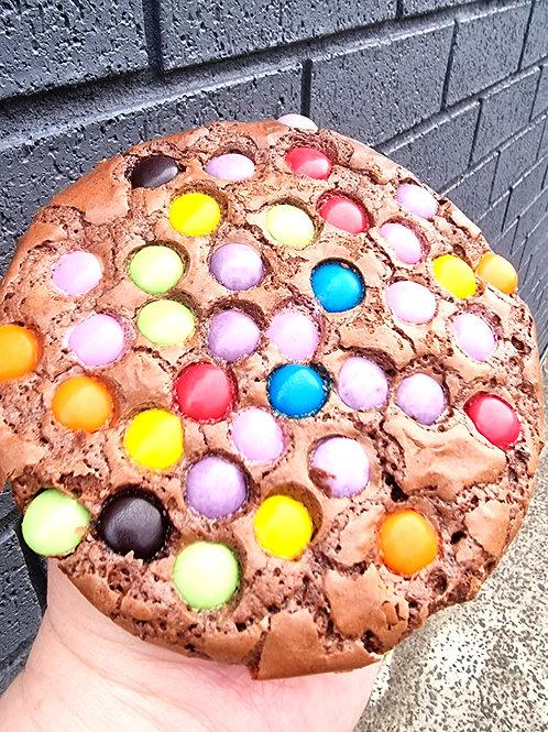 Giant Smartie Pants Cookies 4pk