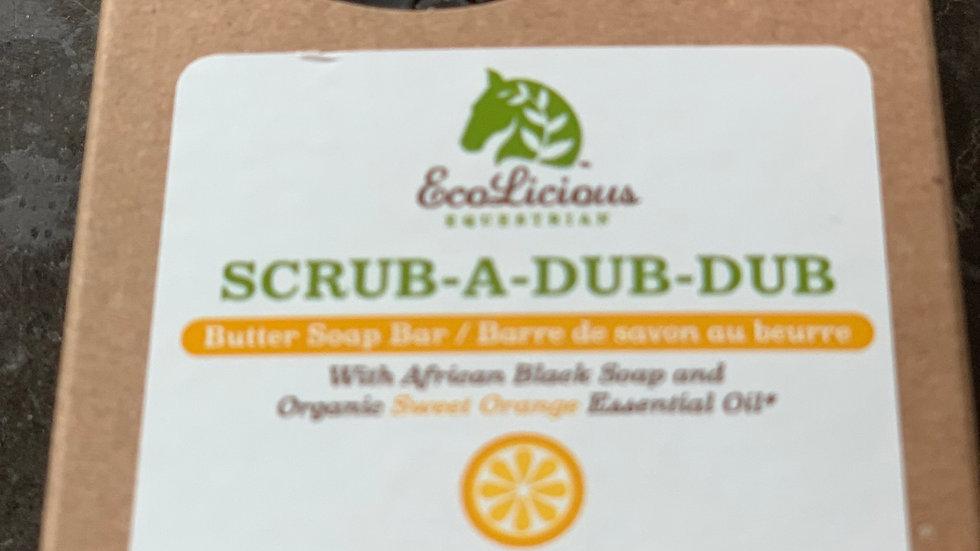 Scrub a dub dub - Butter Soap Bar (146 g)