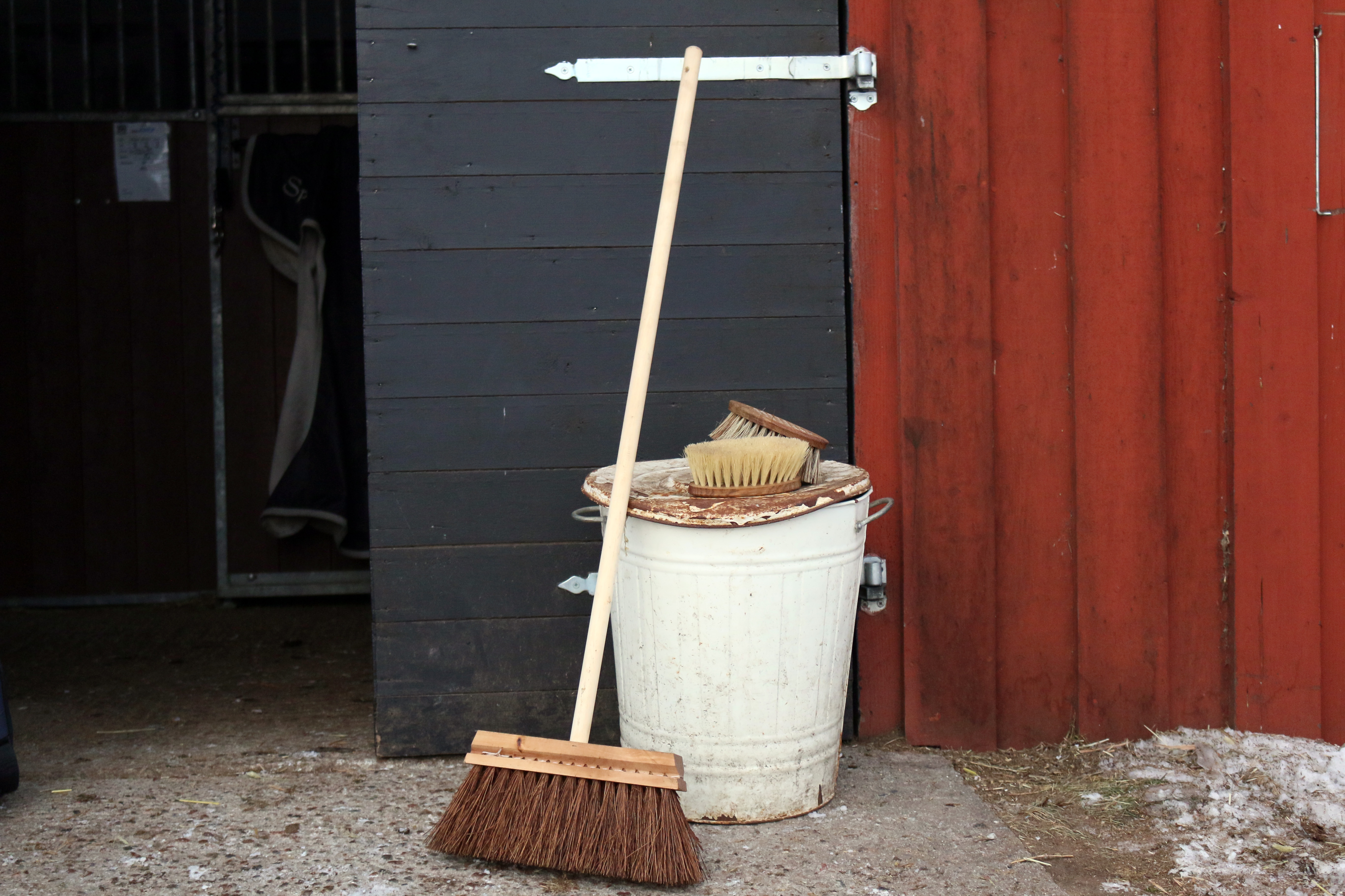 Broom and Brushes