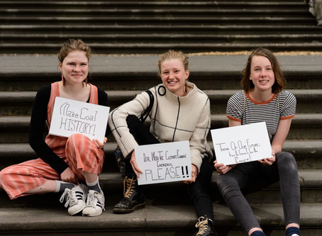 Castlemaine students kick off School Strike 4 Climate action