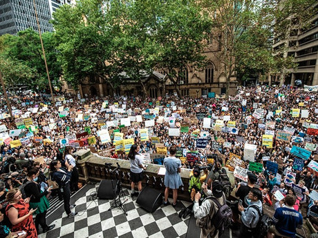 School students & workers in over 100 Australian cities & towns Strike for the Climate next Friday