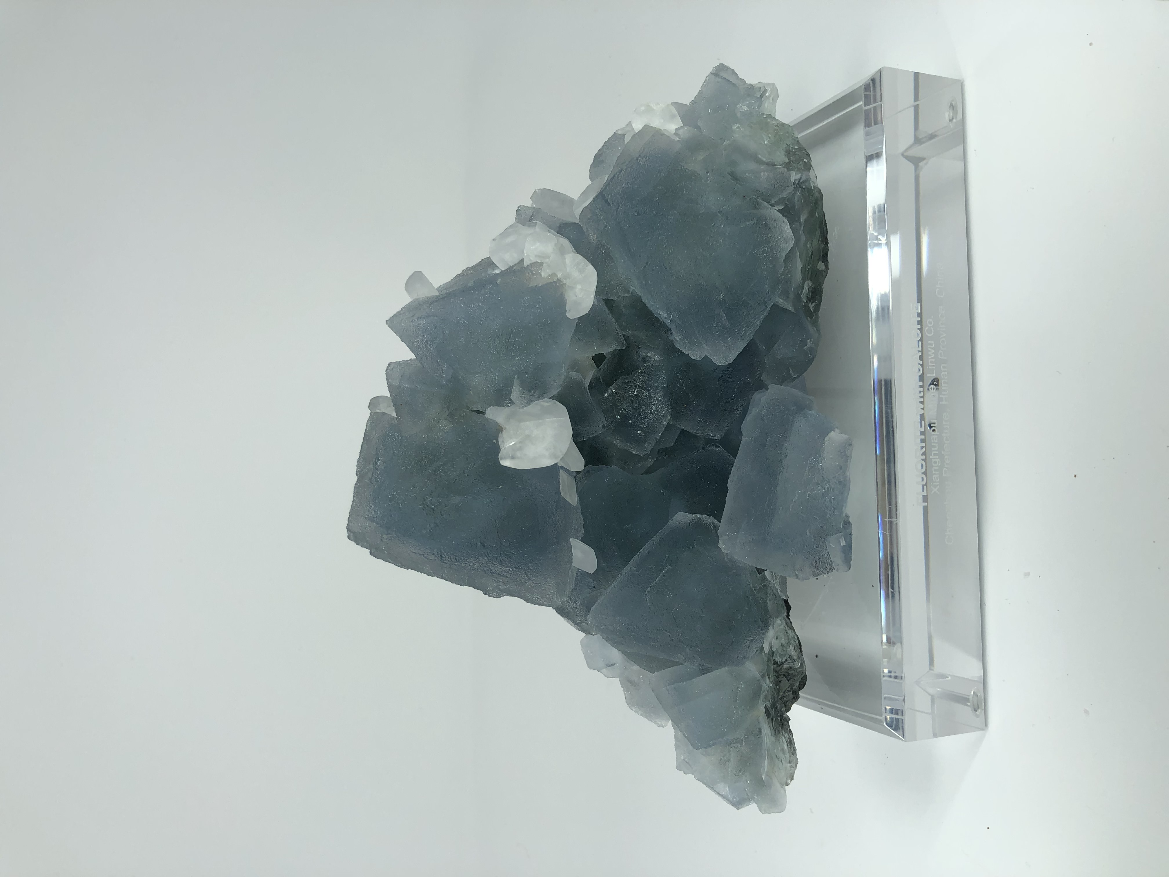 Flourite with Calcite. China Net $7500