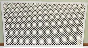 Панель ХДФ Лотос 1400х780 мм, цвет белый.jpg