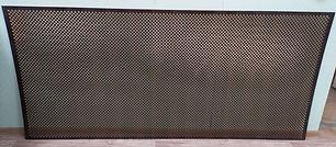 Перфорирванная панель Глория, цвет венге