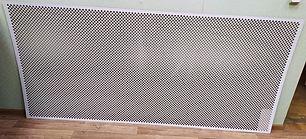 Перфорирванная панель Глория, цвет белый