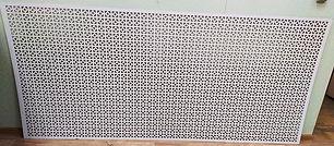 Перфорирванная панель Верон, цвет белый