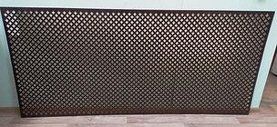 Перфорирванная панель Лотос, цвет венге