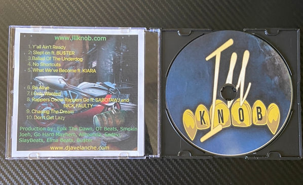 """ILL KNOB """"Y'all Ain't Ready"""" Collectors Item Physical CD"""