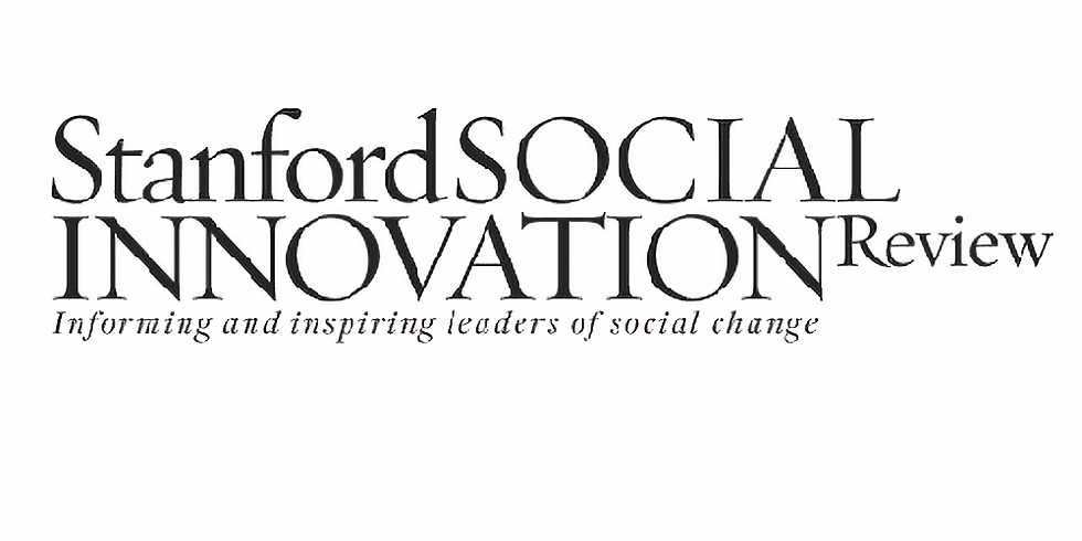 Stanford Social - Webinar: Changing Philanthropic Motivations and Their Impact on Funding for Nonprofits