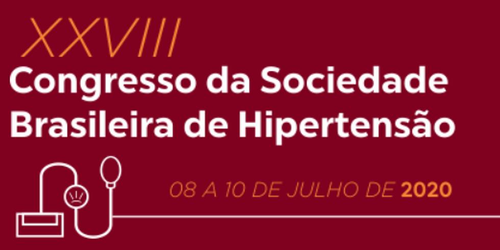 XXVIII Congresso da Sociedade Brasileira de Hipertensão