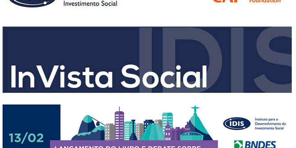 """Lançamento do livro """"Fundos Patrimoniais Filantrópicos – Sustentabilidade para Causas e Organizações"""