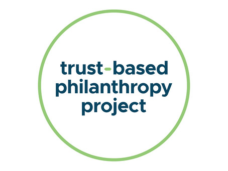 The Trust-Based Philanthropy Project