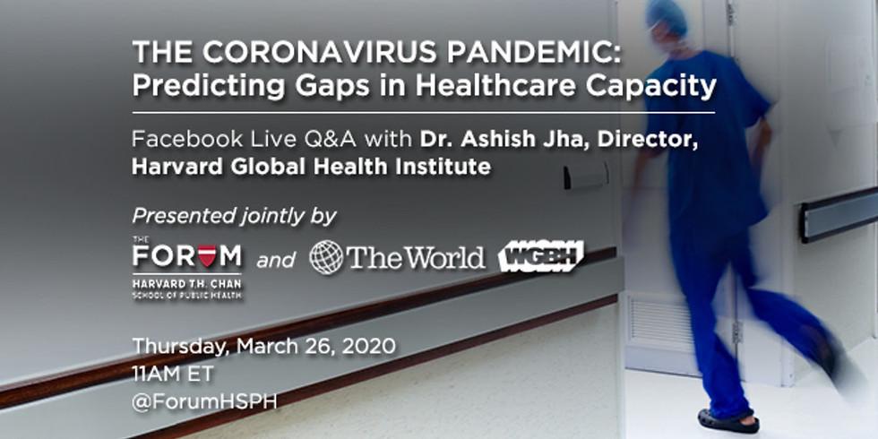 Evento Live do Harvard Global Health Institute sobre Resposta dos EUA ao COVID-19