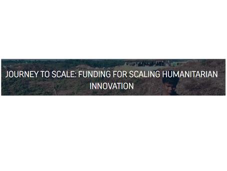 ELRHA - Edital de até  £ 580,000 para iniciativa escolhida até 14/fevereiro.