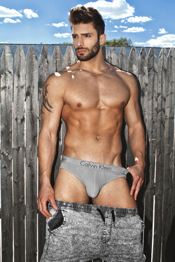 Photoshoot for Top Model Adam Ayash