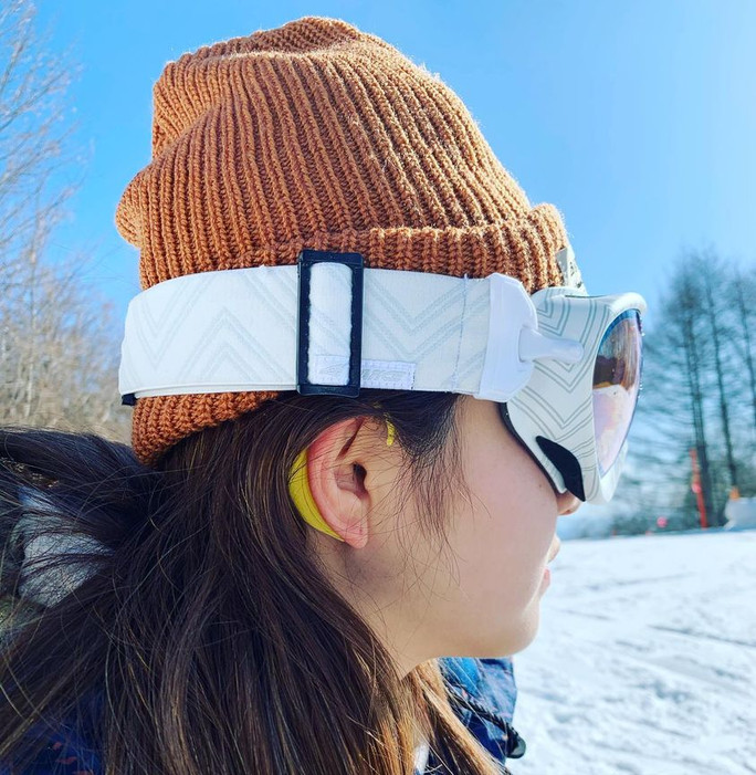 雪山にEARHOOK