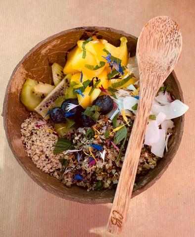 Fruity quinoa